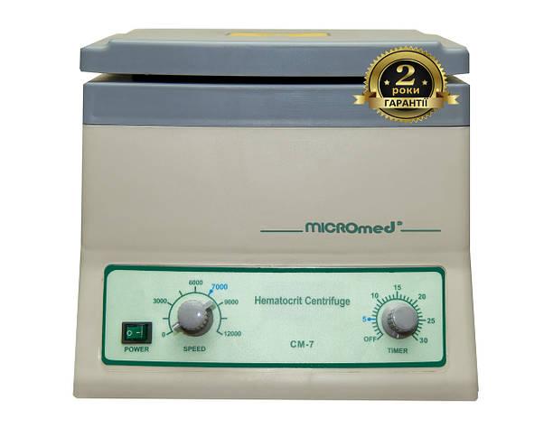 Центрифуга гематокритная СМ-7 MICROmed, фото 2