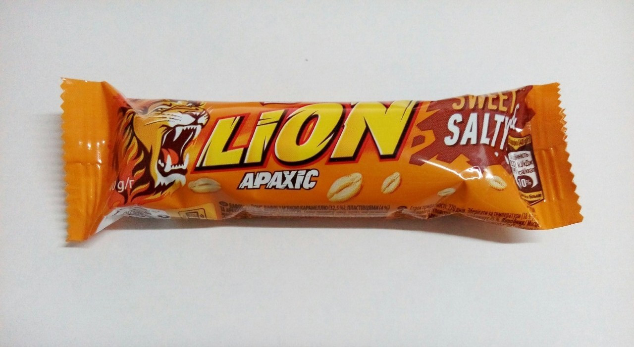 Батончик Lion Арахис 40г