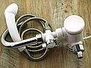 Кран lz008 делимано с душем и термометром 3000w, фото 5