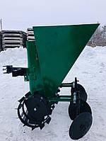 Картофелесажалка мотоблочная однорядная цепная Шип 60 л, фото 1