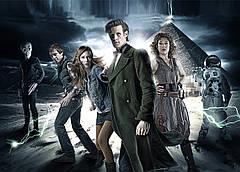 Картина GeekLand Doctor Who Доктор Кто 11-ый 60х40 DW 09.001