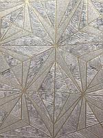Обои виниловые на бумажной основе Zambaiti 88615 Matrix фигуры линии