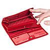 Женский кошелек Butun 592-005-006 кожаный красный , фото 4