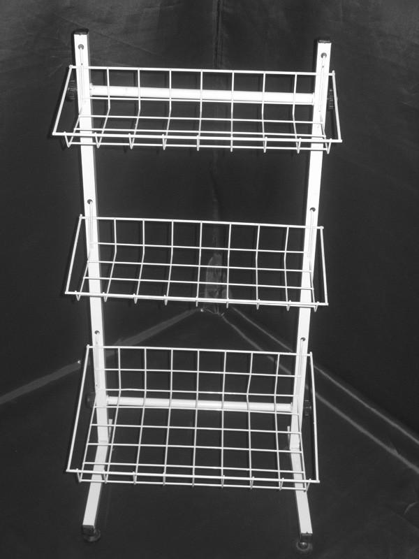 Стеллаж (стойка) металлический на три полки