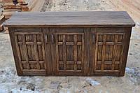 Комод из массива сосны под старину ( с декорированными фасадами)