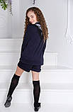 Школьный костюм шорты+пиджак школьная форма для девочки рост:134,140,146,152 см, фото 7
