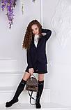 Школьный костюм шорты+пиджак школьная форма для девочки рост:134,140,146,152 см, фото 9