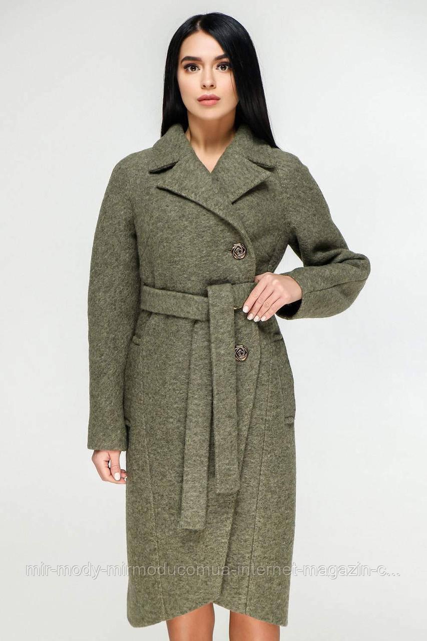 Пальто  демисезонное женское В-1179 Cost Тон 82  (5 расцветок) с 44 по 54 размер (фт)