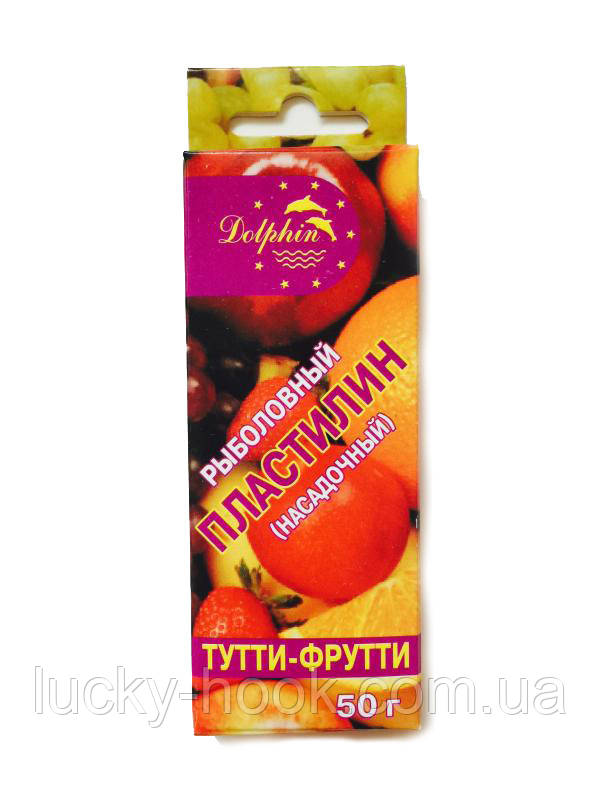 "Пластилин насадочный ""тутти-фрутти"" 50g"