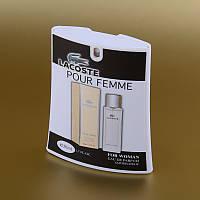 Женская парфюмированная вода Lacoste Pour Femme Lacoste в кассете 50 ml (трапеция) ASL