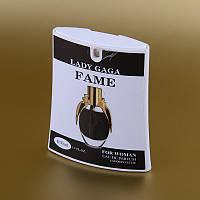 Женская парфюмированная вода Lady Gaga Fame Black Fluid в кассете 50 ml (трапеция) ASL