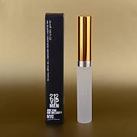 Мужской мини парфюм Carolina Herrera 212 VIP Men 25 ml (в квадратной коробке) ALK