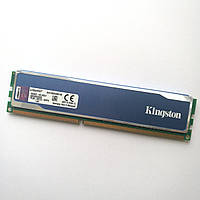 Игровая оперативная память Kingston HyperX Blu DDR3 4Gb 1600MHz PC3 12800U 1R8/2R8 CL9 (KHX1600C9D3B1/4G) Б/У, фото 1