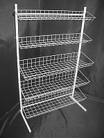 Стеллаж (стойка) металлический на пять полок