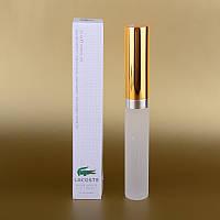 Мужской мини парфюм Lacoste Eau De Lacoste L.12.12 Blanc 25 ml (в квадратной коробке) ALK