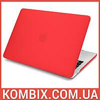 """Чехол для макбука Apple Macbook Air 13"""" Case (красный)"""