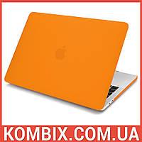 """Чехол для макбука Apple Macbook Air 13"""" Case (оранжевый)"""