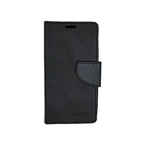 Чехол книжка для Lenovo A Plus A1010a20 боковой с отсеком для визиток, Mercury GOOSPERY, черный