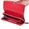 Женский кошелек Butun 609-004-006 кожаный красный , фото 5