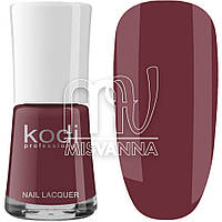 Лак для ногтей Kodi Professional №021, 15 мл сливовый