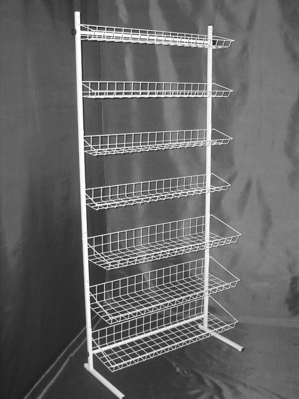 Стеллаж (стойка) металлический на семь полок