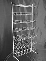 Стеллаж (стойка) металлический на семь полок, фото 1