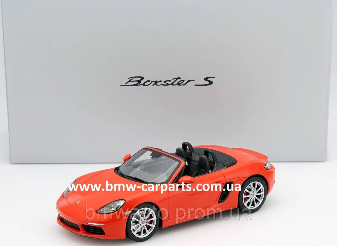 Модель автомобиля Porsche 718 Boxster S (982), Limited Edition, Scale 1:18