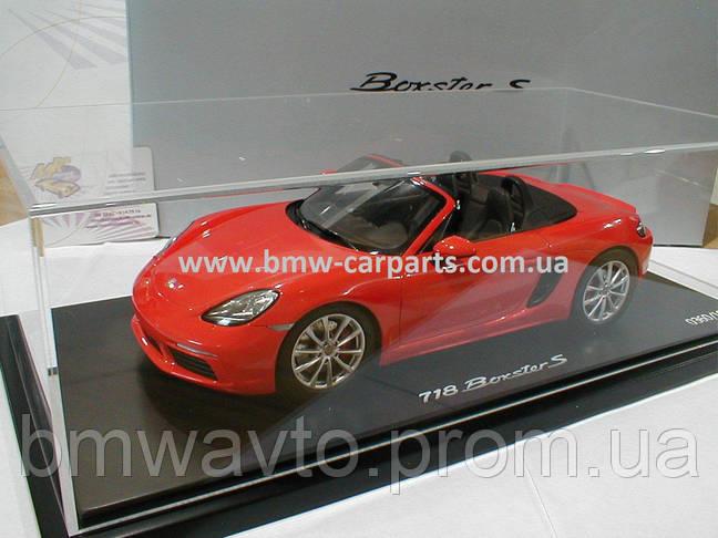 Модель автомобиля Porsche 718 Boxster S (982), Limited Edition, Scale 1:18, фото 3