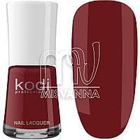 Лак для ногтей Kodi Professional №022, 15 мл бордо