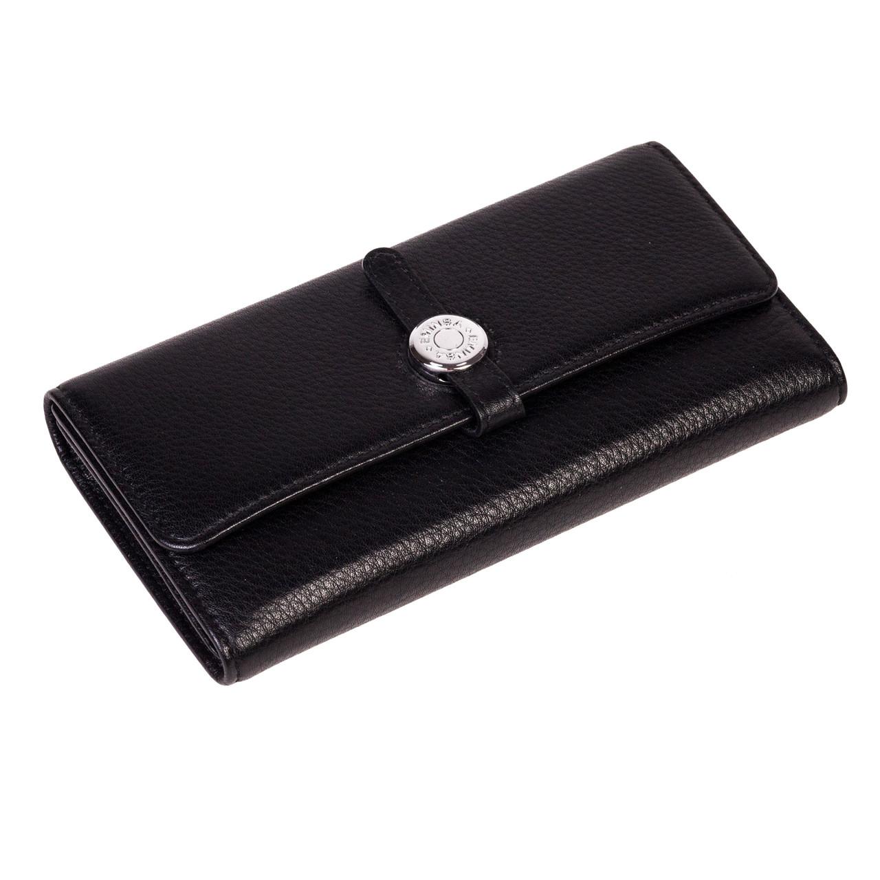 Женский кошелек Eminsa 2114-12-1 кожаный черный