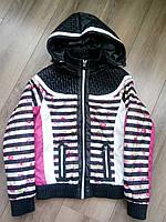 Стильная весенняя куртка для девочки