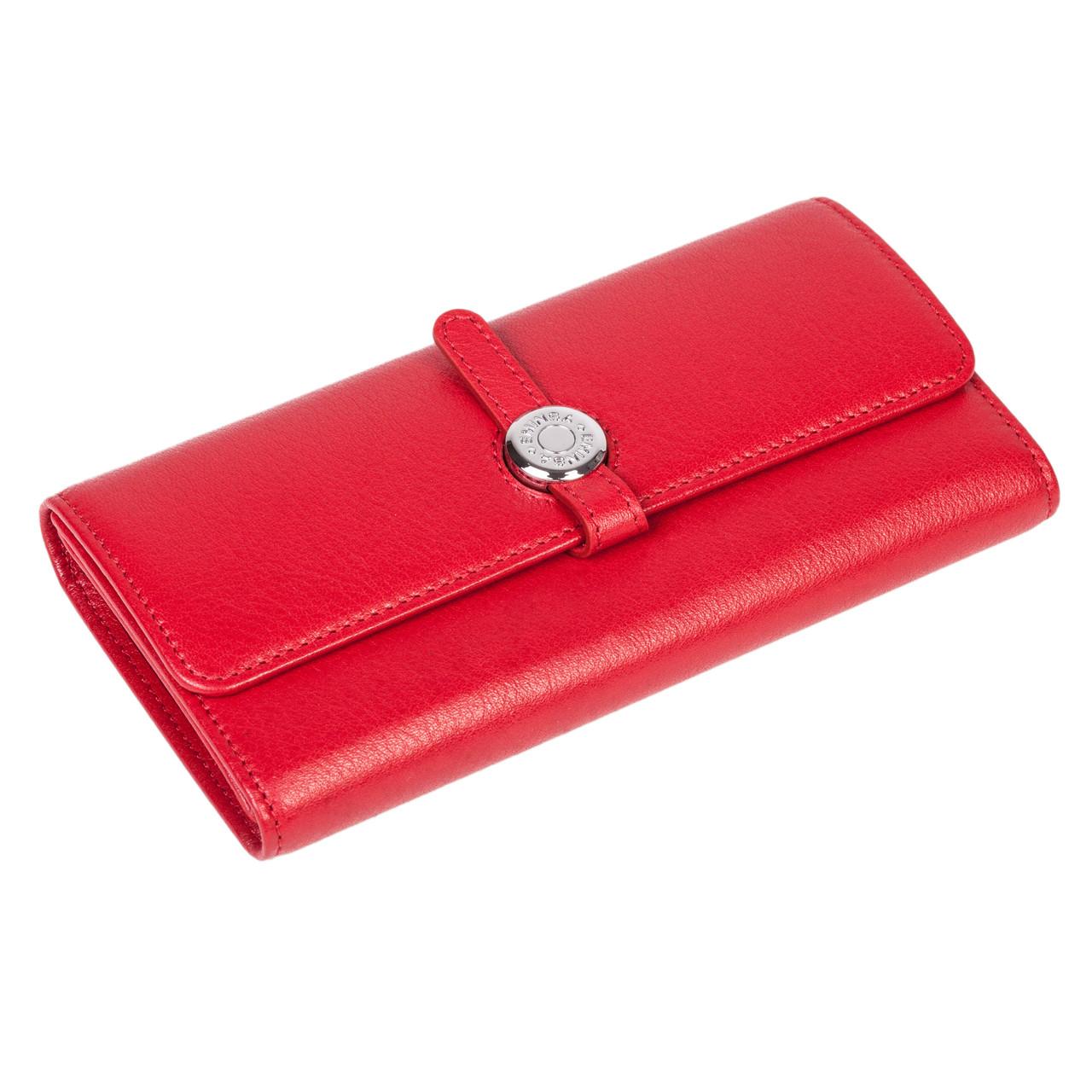 Женский кошелек Eminsa 2114-12-5 кожаный красный