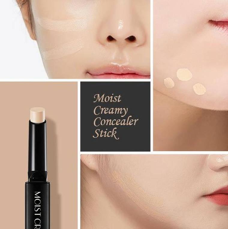 Консилер-стик A'PIEU Moist Creamy Concealer Stick SPF30/PA++ №5 темный песочный оттенок, фото 2