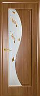 Дверь Эскада  витраж венге,ольха золотая,каштан,ясень ПВХ