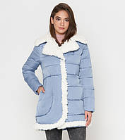 Tiger Force 2162   Женская куртка на зиму голубая