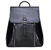 Рюкзак сумка женский трансформер городской Manufactur Черный
