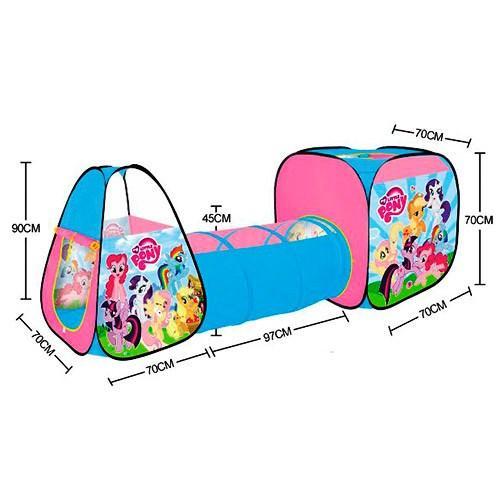 Детская игровая палатка с тоннелем Литл Пони Little Pony 5793