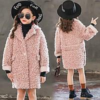 """Хит!!! Очень модная шубка-пальто на девочку  """"Наоми"""""""