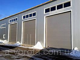 Промышленные секционные ворота Doorhan ISD01 (4000х4000 мм)