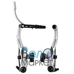 Тормоз Shimano Acera BR-M422 V-brake (серый) любительского уровня для кроссовых велосипедов и МТБ