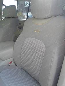 Чехлы майки на сидения Infiniti QX-56 2010-> (2 шт) Union