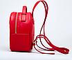 Рюкзак женский кожаный Forever Young Красный, фото 4