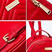 Рюкзак женский кожаный Forever Young Красный, фото 5
