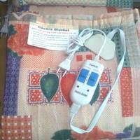 Матрас с подогревом двухспальный плотный + электросушилка для обуви в подарок