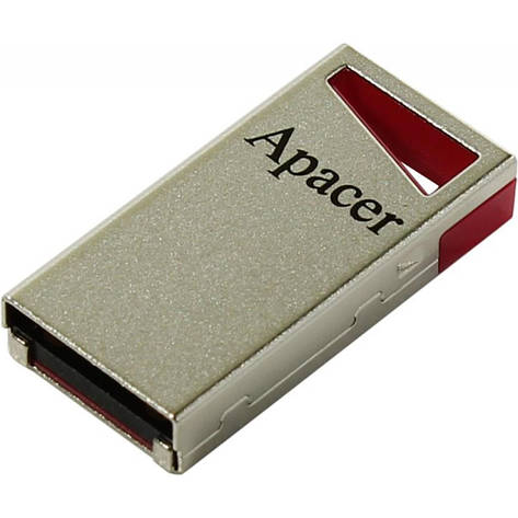 USB Флешка (Флэш-накопитель) 2.0 Apacer AH112 16GB Красный/ Серебристый (AP16GAH112R-1), фото 2