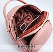 Рюкзак женский трансформер Forever Young Pely Розовый, фото 7