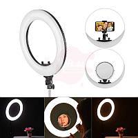 Кольцевая светодиодная лампа визажиста/для макияжа, фото 1