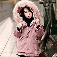 Очень стильное  пальто парка на девочку подросток Весна 2019