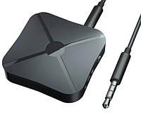 Bluetooth 4.2 Приемник- передатчик 2 в 1, AUX аудио вход для дома ТВ MP3 PC аккумулятор., фото 1