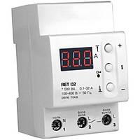 Реле тока RET I32 32А, 7 000 ВА DIN ZUBR